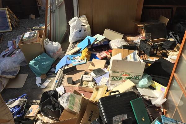 ゴミ屋敷のような状態で自身で整理できず対応してもらえるか分らない